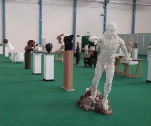 el movimiento en escultura