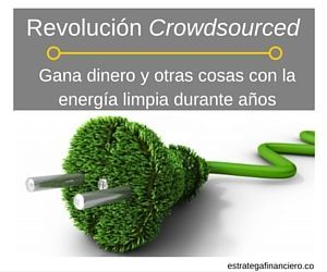 Energia limpia crowdsourced ecrowd