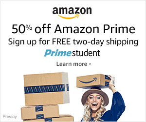 Get a Free Amazon Prime Student account with any student email!