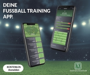 Dein Fußball Training App für iOS und Android