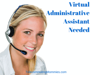 virtual administrative assistant needed