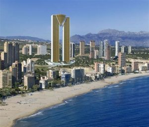 The my NIE Number Spain favouite photo of Benidorm