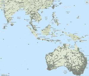 Geocaching Map