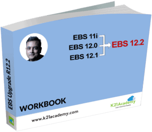 EBS Upgrade Workbook