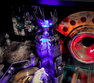 Lord of the Rings Pinball Machine Orthanc Pinball Mod