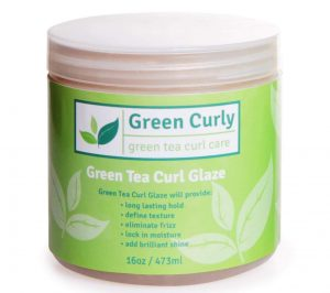 Green Tea Curl Glaze Natural Curly Hair Styling Gel