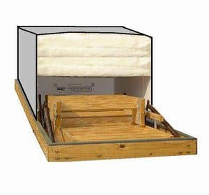 "Attic Stair R-50 Insulating Cover 22"" X 54"""