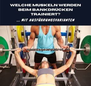 Muskeln Bankdrücken
