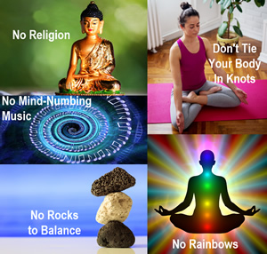 Guided Meditation Without the Nonsense