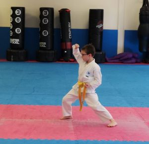 Children's self defence classes in Basingstoke, learning to defend