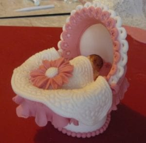 carriage cake