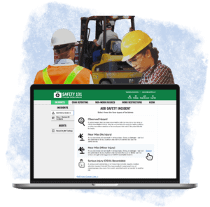 Safety 101 helps any company, college, university, government agency, city or any other organization proactively manage their safety program with workplace safety software