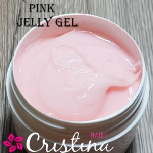 Гель желе розовый для ногтей