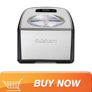 Cuisinart ICE-100 ice cream maker with built-in freezer compressor