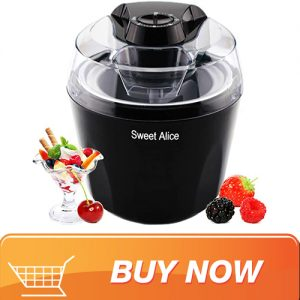 Tup Fang 1.5 Quart ice cream maker with built-in freezer