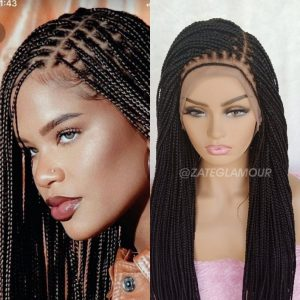 Knotless Braided Wig