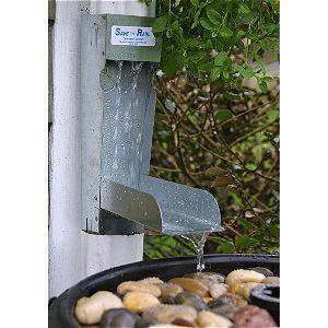 Save the Rain Water Metal Diverter 2x3