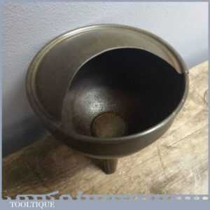 Vintage 4 Wide Oil Can Funnel - Old Mechanical Tool