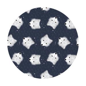 arctic fox fabric