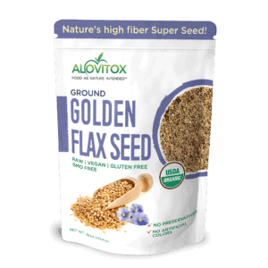 Ground Golden Flaxseed