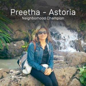 Preetha from Astoria Neighborhood Champion