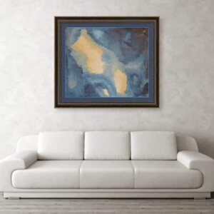 The NIght Sky, Oil Painting, Anita Louise Art