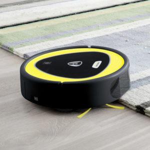 tapis et robot laveur
