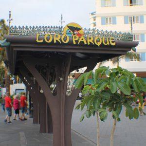 Zastávka v Loro Parque