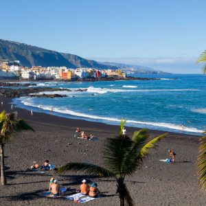 Pláž kanárské ostrovy - Playa Jardin