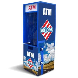 Outdoor Flat Front ATM Enclosure Wrap