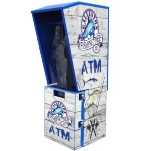 Outdoor Sloped Top ATM enclosure Wrap