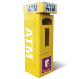 ATM Kiosk Enclosure Spot Graphics for Large Kiosks