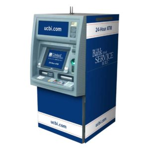 NCR6632 Custom ATM-Kiosk SharkSkin Wrap