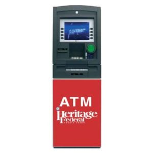 NCR Personas P77 Custom ATM Graphic Wrap