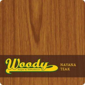 Woody ATM Wrap Nayana Teak