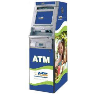 Hyosung U9030 (NH5100) Custom SharkSkin ATM Wrap