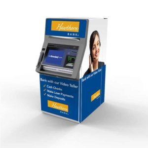 NCR SelfServ 82 Custom ATM-Kiosk SharkSkin Wrap