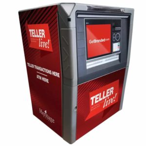 NCR SelfServ 88 Custom ATM SharkSkin Wrap