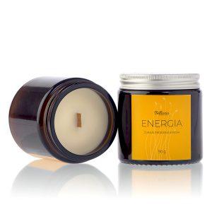 sojova sviecka s drevenym knotom energia prirodna kozmetika bellcoria