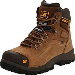 Caterpillar Men's Diagnostic Steel-Toe Waterproof Work Boot