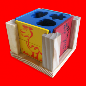 Cubo Forme Imagens Carimbras