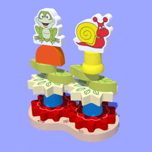 torre decorada carimbras