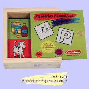 memoria figuras e letras