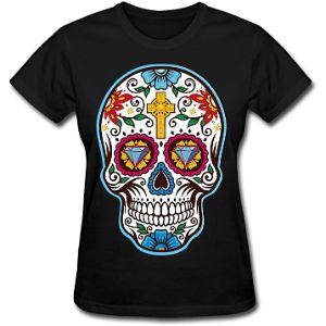 camisetas con calaveras mexicanas