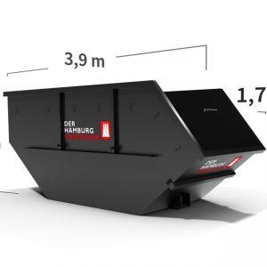 Hamburg Container 10 kubikmeter Absetzcontainer