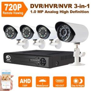 Überwachungskamera Set - JOOAN TC-404AHD-4A-4CH-AHD