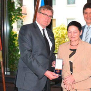Ein Verdienstorden für unsere Ehrenvorsitzende Ruth Marianne Wehnert