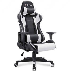 Homall High Back Computer Chair PU Leather Desk