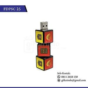 FDPSC25 Flashdisk Plastik Dadu