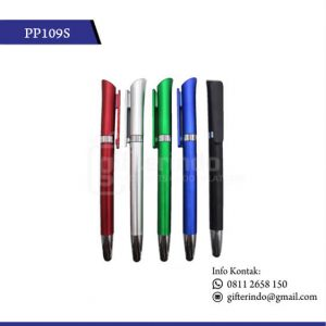 PP109S Souvenir Pulpen Promosi Touchscreen Unik